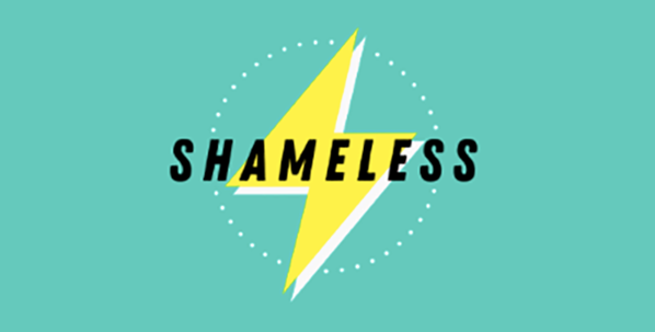 The logo for Off the Record's 'Shameless' group.