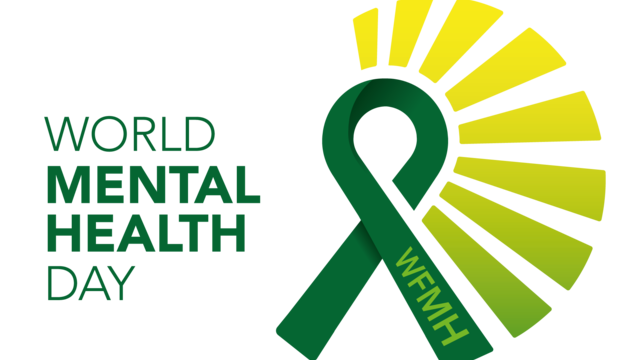 The logo for World Mental Health Day.